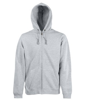 Fruit of the Loom Zip Through Hooded Sweat (graumeliert) 27,37 €